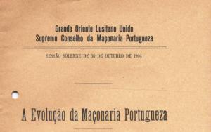 A evolução da maçonaria portuguesa_1904